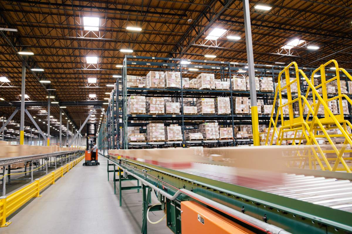 Distribution Center Warehouse Management System